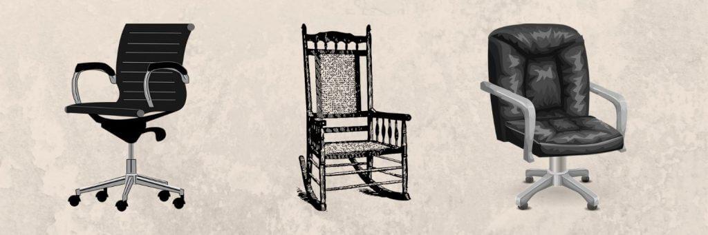 כיסא למשרד או לבית